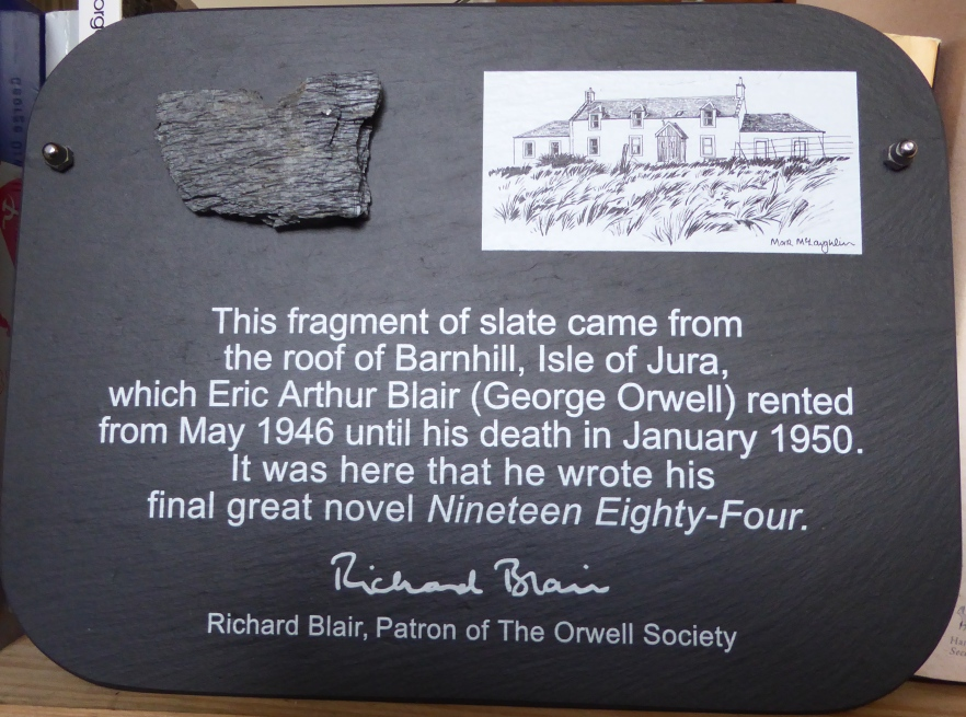 Orwell Society Slate.JPG
