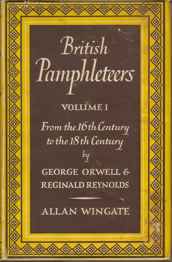 BritishPamphleteers Vol 1 Front
