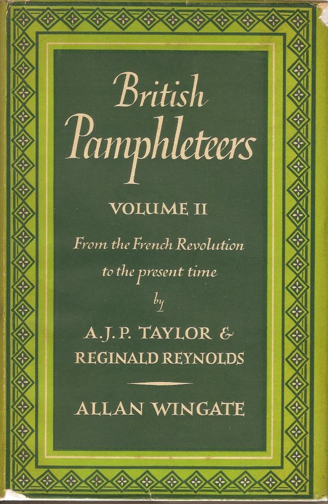 BritishPamphleteers Vol 2 Front