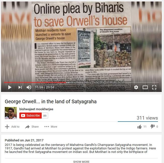 Orwell Satyagraha