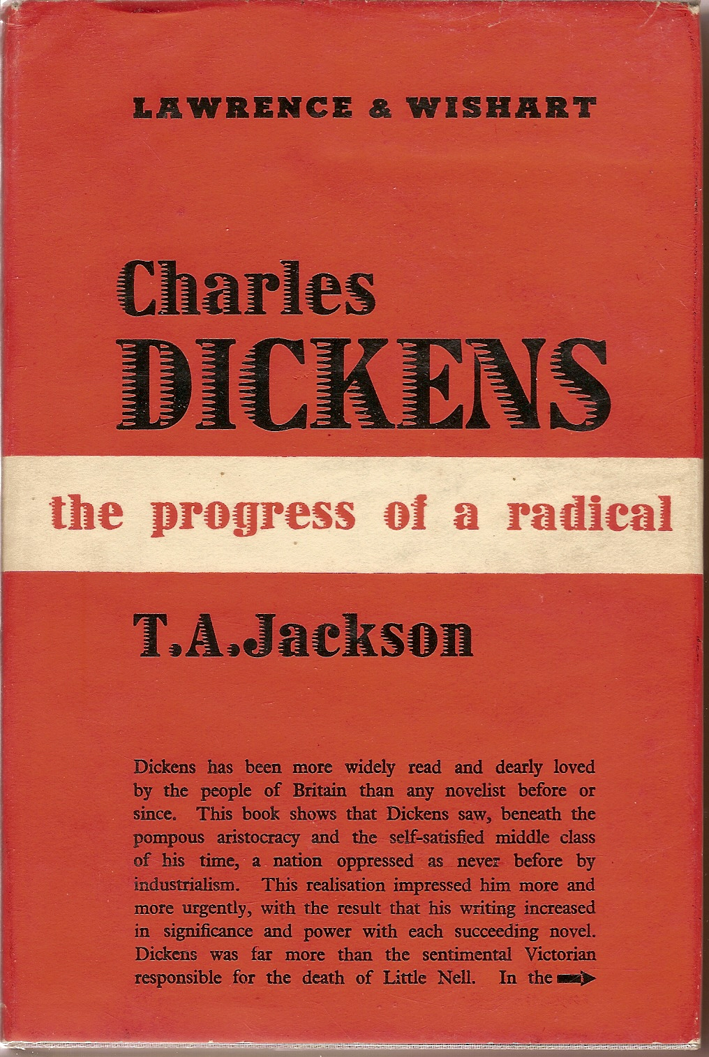 Orwell on dickens essay