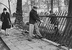 Removing railings